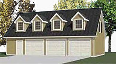 Garage Plans Two Car Garage With Loft Apartment Plan