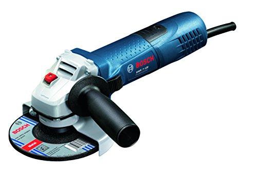Bosch Professional smerigliatrice angolare GWS 7-125, 125 mm - diametro dischi, 720 Watt in scatola