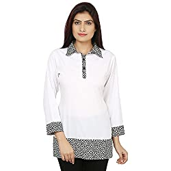 Bhama Couture White & Black Shirt