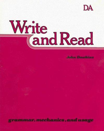 Write and Read Books Da