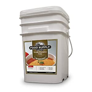 Stansport Food Supply Depot Tomato Florentine Soup Bucket (20 Count) by StanSport