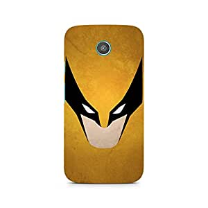 TAZindia Printed Hard Back Case Cover For Moto G2