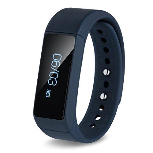 Excelvan® OLED Pulsera Smart Bluetooth 4.0 Pantalla Táctil / Podómetro / Seguimiento de calorías / Sleep Monitor / Para Android IOS