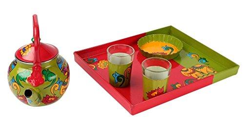 a-krazy-mug-tischdekoration-handgemaltes-hathi-ki-sawari-thematee-umhullung-satz-indisches-geschenk