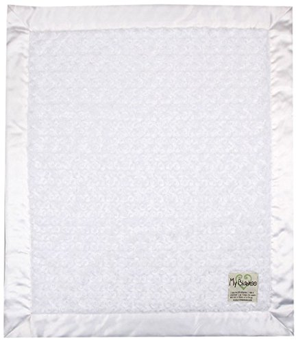 "My Blankee Luxe Snail Baby Blanket, 14"" x 17"", White"