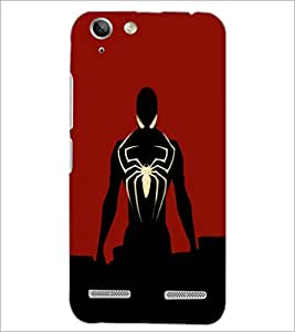 PrintDhaba Spiderman D-3205 Back Case Cover for LENOVO A6020a46 (Multi-Coloured)