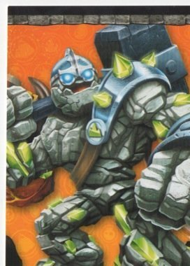 Skylanders Giants No. B2 PUZZLE - Puzzle Card Individuelle Trading Card