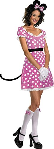 Disney Minnie Mouse Sassy Pink 8-10
