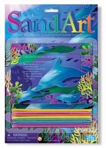 Sand Art Dolphin