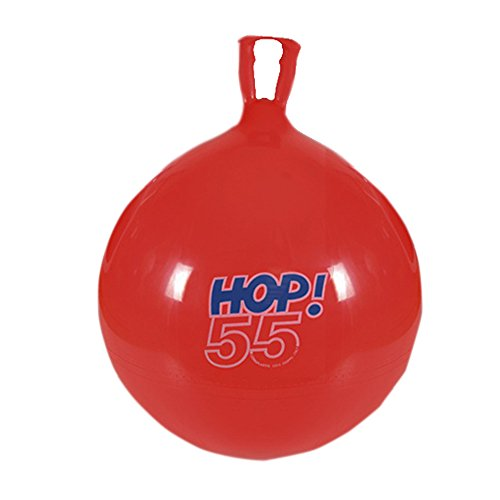 "Gymnic / Hop-55 22"" Hop Ball, Red"