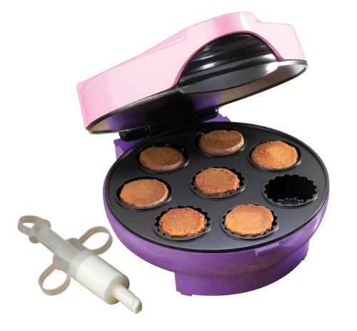 Nostalgia Electrics CFC400 Cream Filled Mini Cupcake Maker