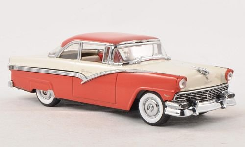 Ford Fairlane, white/red, 1956, Model Car, Ready-made, Vitesse 1:43 (1956 Ford Fairlane compare prices)