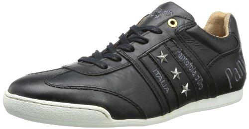 Pantofola d'Oro Mens Ascoli Botanica Uni Low Trainers Black Schwarz (Black) Size: 9 (43 EU)