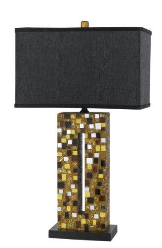 cal lighting bo 2085tb sparkle table lamp mosaic sale. Black Bedroom Furniture Sets. Home Design Ideas