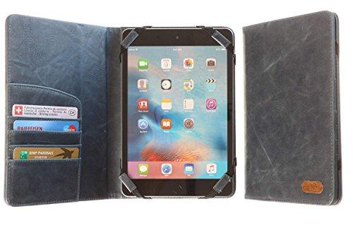 3Q Lussuosa Custodia Universale Tablet 7 pollici Cover 8 pollici Novità maggio 2016 Porta Tablet Universale Cover Top Design Esclusivo Svizzero Tablet Custodia Blu Azzuro