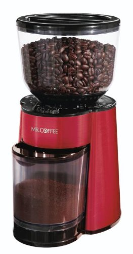 Purchase Mr. Coffee BVMC-BMH26 Automatic Burr Mill Grinder, Red