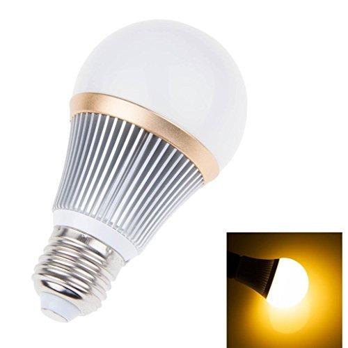 Super Bright Dimmable 5W Led Globe Bulb Light Lamp E27 5 Leds Warm White Lighting A19 Bulb 110V