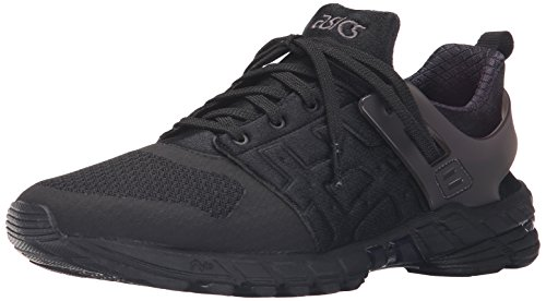 ASICS GT DS Retro Running Shoe, Black/Black, 8 M US