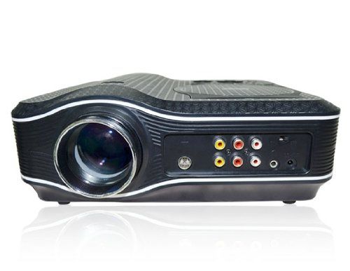 Ejl-010 Portable Led Dvd Home Theater Projector (Black)(Shipping From China)
