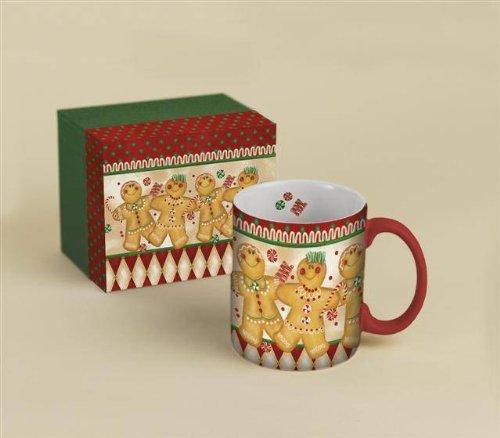 Holiday Harlequin 14 Oz Coffee Mug