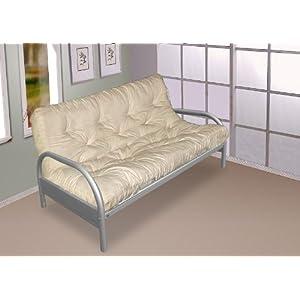 Gilda Double Sofa Bed Futon Brown Indoor Outdoor Stain