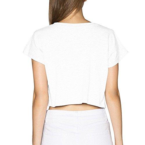 d0f69912c2a42 Women s Steelers Logo Crop Top T-shirt White
