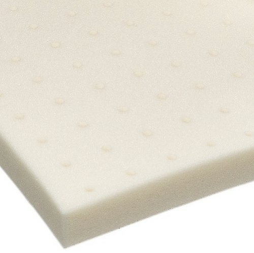 Sleep Studio 4-Inch ViscO2 Ventilated Memory Foam Mattress Topper, Twin