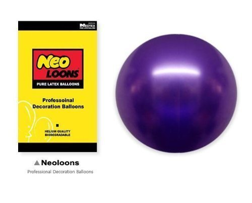 Neo-LOONS-5-Pearl-Purple-Premium-Latex-Balloons-Great-for-Kids-Adult-Birthdays-Weddings-Receptions-Baby-Showers-Water-Fights-or-Any-Celebration-Pack-of-100