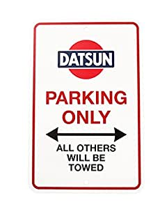 Amazon.com: Genuine Nissan Datsun Parking Only Street