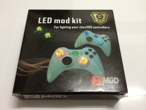 Led Lighting Up Kit For Xbox 360 Controllers, Light-Up Your Xbox Controllers