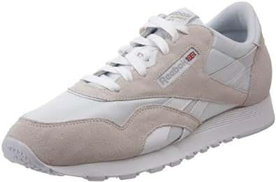Reebok Men's Classic Sneaker, White/Light Grey, 6.5M
