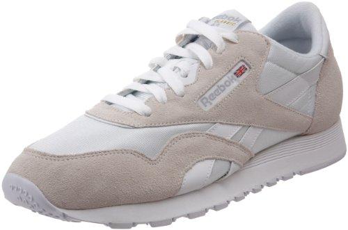 Reebok Men's Classic Sneaker, White/Light Grey, 10.5M (Reebok Classic Mens Sneakers compare prices)