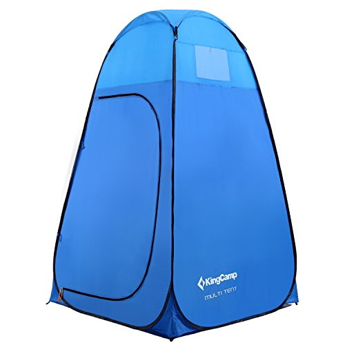 KingCamp Multi Tent, Outdoor Portable Multi-Use Pop Up Tent/Changing Room with Carry Bag (Portable Shower Tent compare prices)