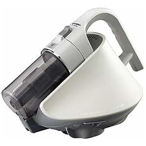 シャープ ふとんクリーナー(ホワイト系)【掃除機】SHARP サイクロンふとん掃除機 Cornet(コロネ) EC-HX150-W