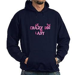 CafePress Crazy Dog Lady Hoodie dark by CafePress