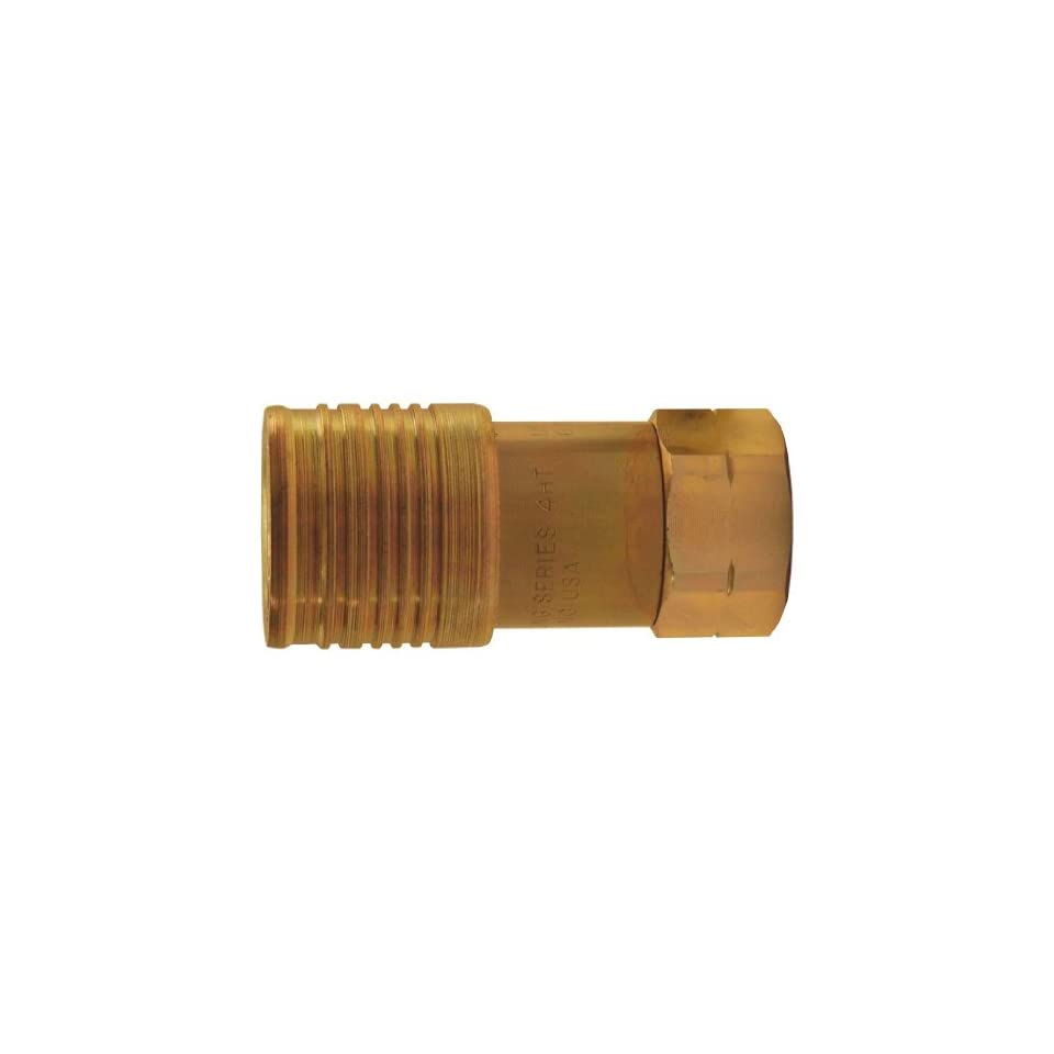 Flush Face Hydraulic Quick   Connect SAE/Orb Coupler   4HTOF6
