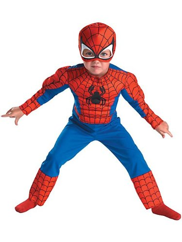 Disguise Inc - Spider-Man Muscle Toddler Costume