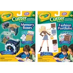 Crayola Cutter Project Kit Fashion Portfolio (Use with the Crayloa Cutter Sold Seperately)