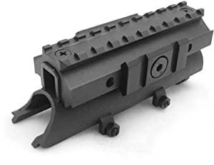 NcStar SKS Receiver Cover Tri-Rail Weaver Scope Mount (MTSKS)