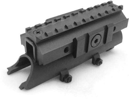 Why Should You Buy NcStar SKS Receiver Cover Tri-Rail Weaver Scope Mount (MTSKS)