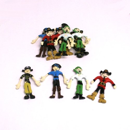 Bendable Pirates (1 Dozen)