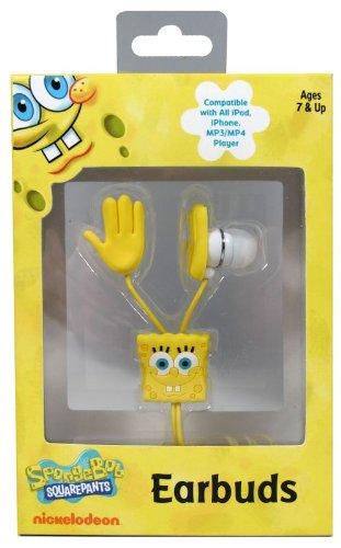 Spongebob Squarepants 11462 Nickelodeon Hands Molded Earbud