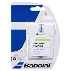 Buy BABOLAT Pro Tour Traction Overgrip (Pack of 3) by Babolat