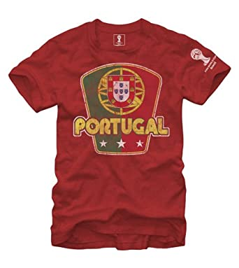 Buy FIFA 2014 World Cup Soccer - Portugal - T-Shirt by Fifth Sun