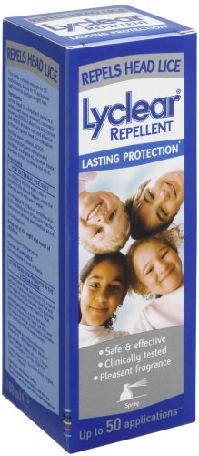 Lyclear Head Lice Repellent - 50 Applications