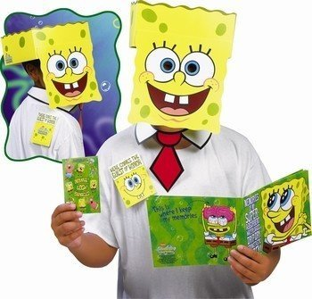 Spongebob Guest of Honor Party Mask