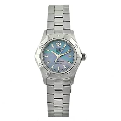 "TAG Heuer Women's WAF1417.BA0823 ""Aquaracer"" Stainless Steel Sport Watch"