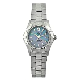 Tag Heuer Women s WAF1417 BA0823 Aquaracer Blue Mother-of-pearl dial Watch