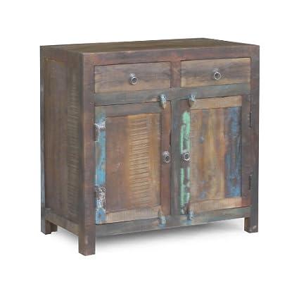 Timbergirl 2-Door Reclaimed Wood Sideboard Cabinet