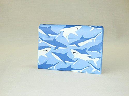 (HOUSO) 紙のカードケース「鮫」